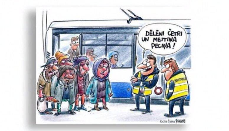 Ieskaties: Karikatūras par aktualitātēm Latvijā un pasaulē