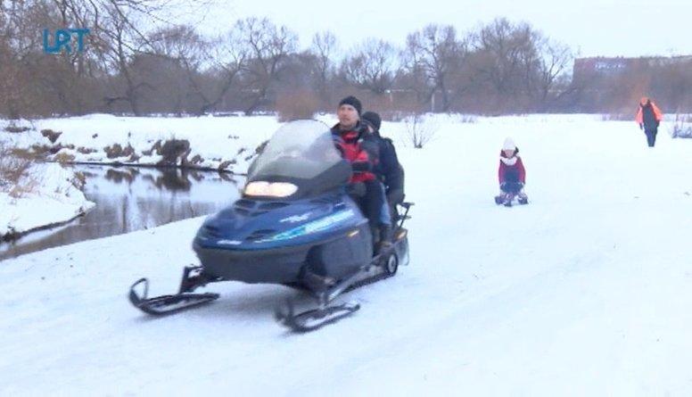 Ziemas prieki Rēzeknes Festivāla parkā
