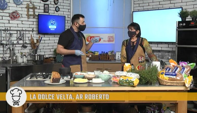 """Joku dienā Roberto un Velta Puriņa kopīgi izpilda itāliešu dziesmu """"Feličita"""""""