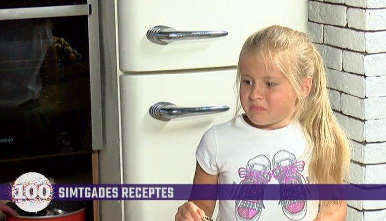 Smieklīgi: kā Daņiļeviča meita degustēja tēva gatavotās uzkodas