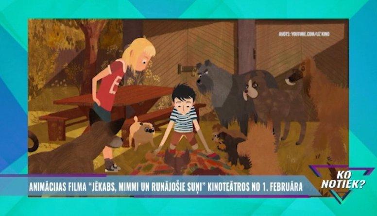 """Jauna un pārsteidzoša latviešu animācijas filma - """"Jēkabs, Mimmi un runājošie suņi""""!"""