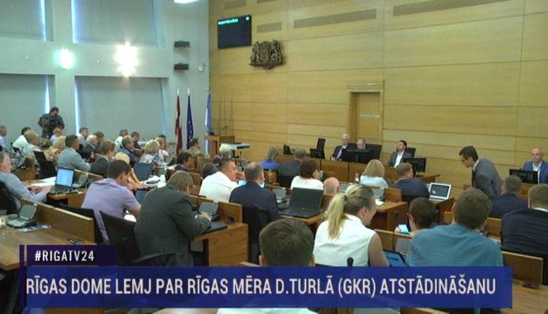 Rīgas dome atstādina Daini Turlo no mēra amata