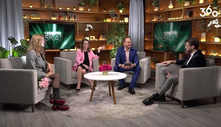 Kāpēc Aivis un Lelde Ceriņi nekad nevada TV raidījumus kopā?