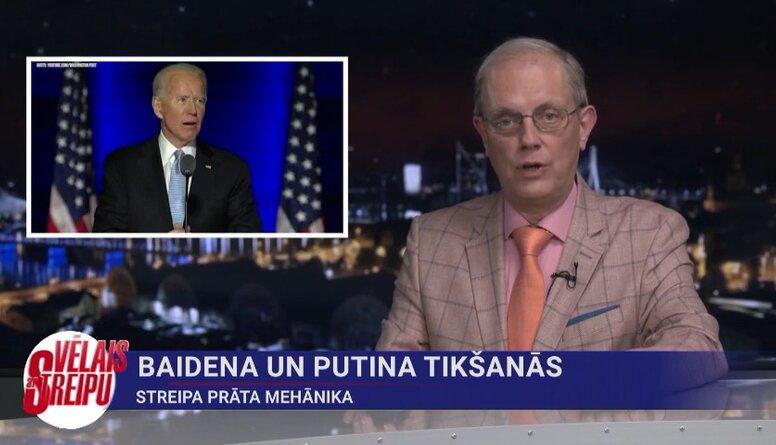 Streipa prāta mehānika: Baidena un Putina tikšanās