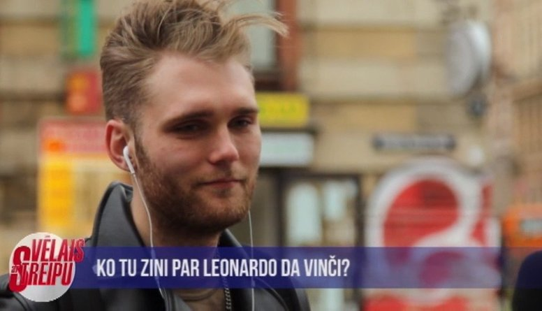 Ko zini par Leonardo da Vinči?