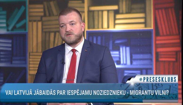 Vai Latvijā jābaidās par iespējamu noziedznieku - migrantu vilni?