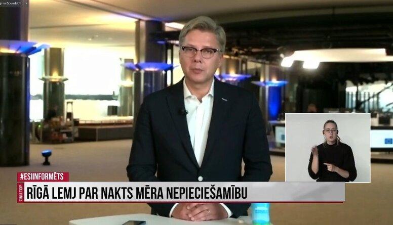 Ko Nils Ušakovs domā par nakts mēra idejas ieviešanu Rīgā?