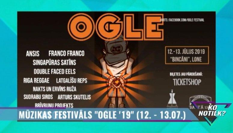 "Mūzikas festivāls ""Ogle `19"""