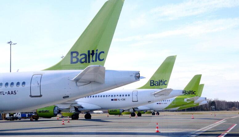 """Vai valstij vajadzētu uzturēt """"airBaltic"""" Covid-19 izplatīšanās laikā?"""