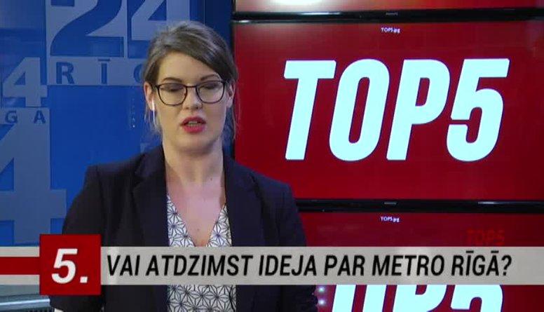 06.01.2017 Ziņu top 5