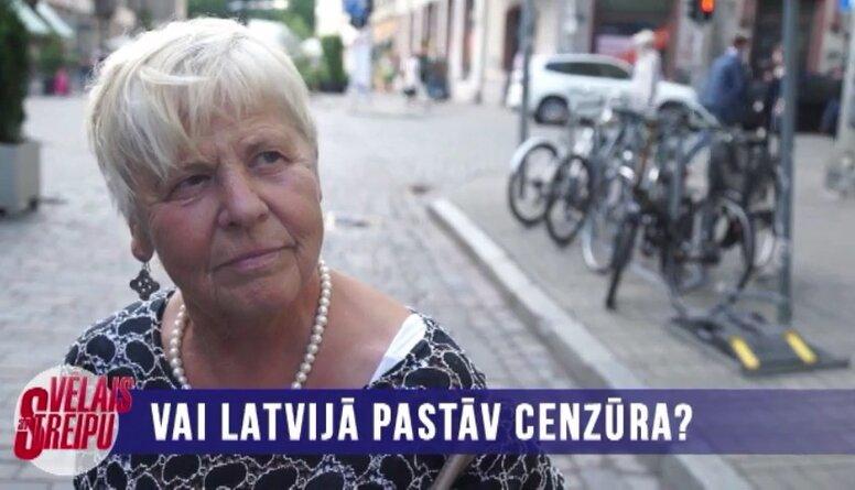 Vai Latvijā pastāv cenzūra?