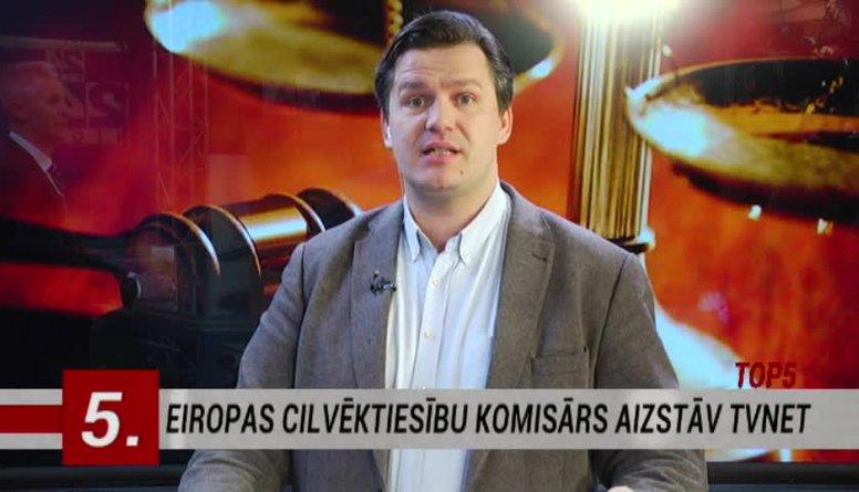 27.01.2017 Ziņu top 5