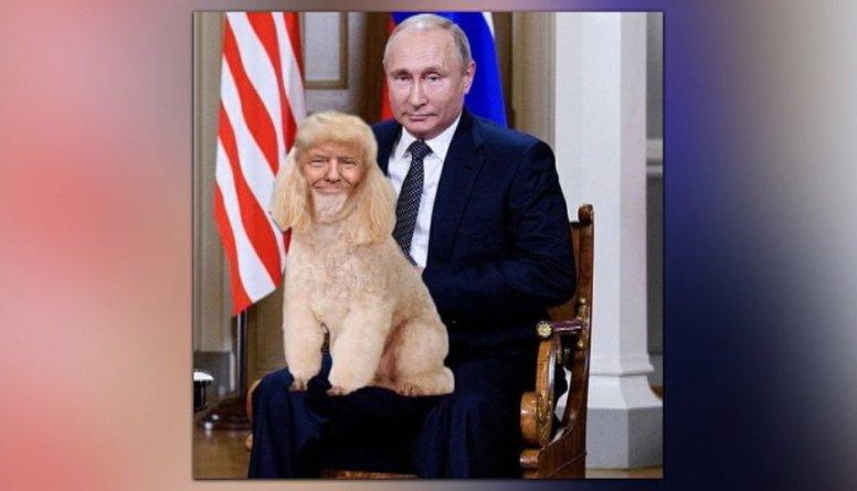 Tramps un Putins atkal krituši interneta jokdaru nežēlastībā