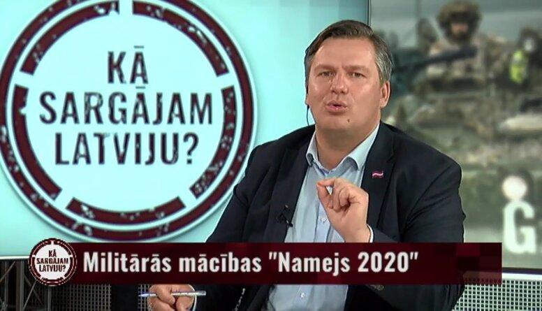 """Kur jāveršas iedzīvotājiem, ja rodas jautājumi par militāro mācību """"Namejs 2020"""" norisi?"""