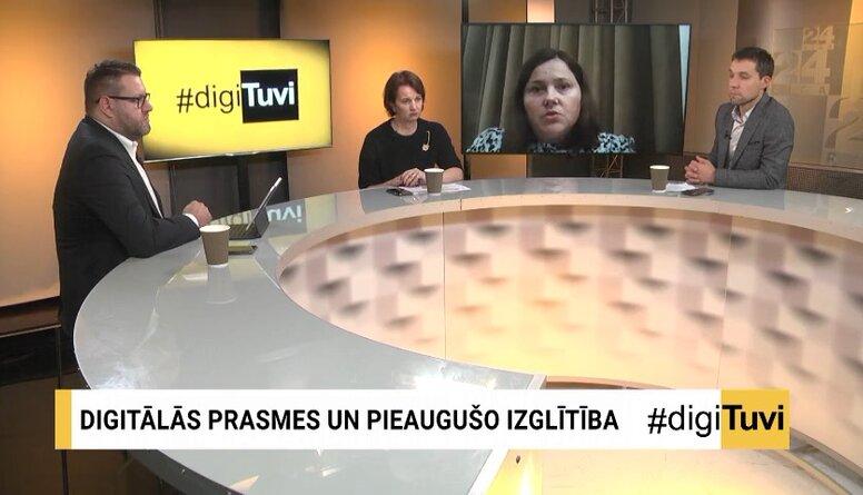 Gunta Arāja: Lielākajai daļai Latvijas pieaugušo iedzīvotāju digitālās darba prasmes ir zemā līmenī