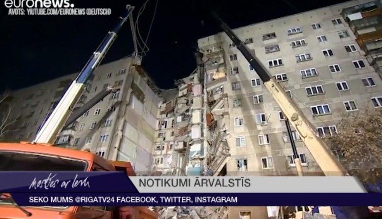 Krievijā gāzes sprādzienā septiņi upuri