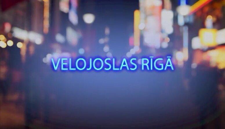 Tvitersāga: Velojoslas Rīgā