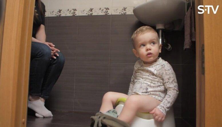 Kad un kā mazuli labāk iepazīstināt ar podiņu?