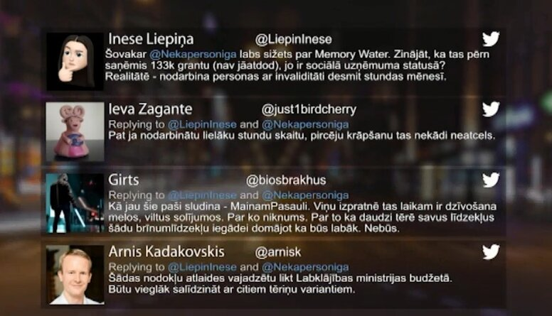 Tvitersāga: Memory Water