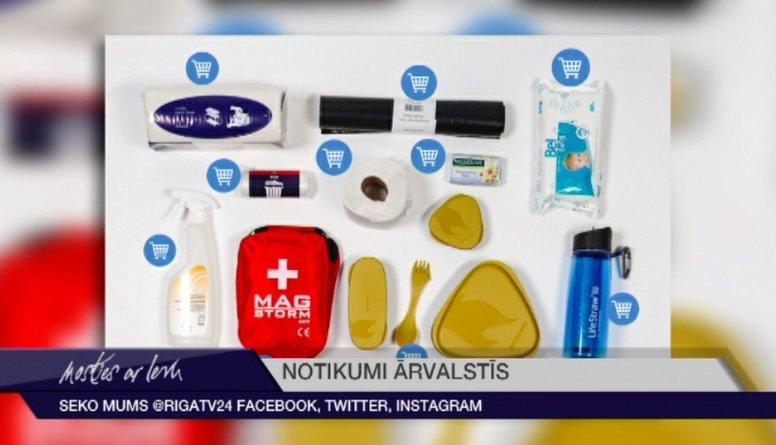 Igaunijas valdība aicina iedzīvotājus sagatavot produktus ārkārtas situācijai
