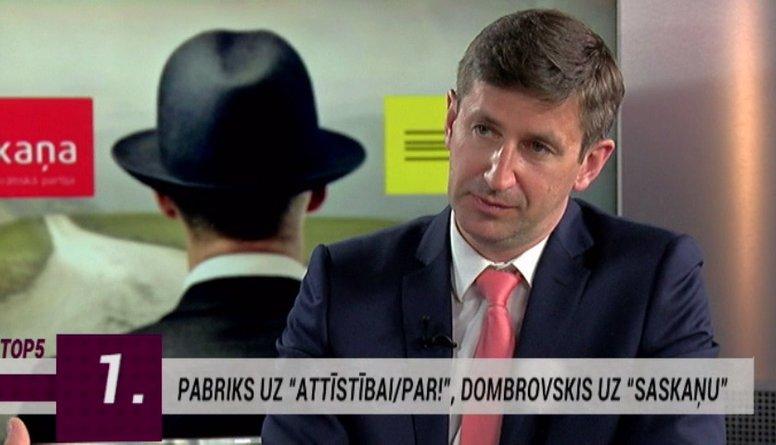 """Par """"Saskaņas"""" premjera kandidātu varētu kļūt Vjačeslavs Dombrovskis"""