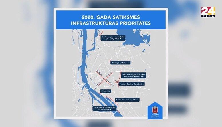 Rīgā sākusies ielu būvdarbu sezona: svarīgākie darbi 2020. gadā