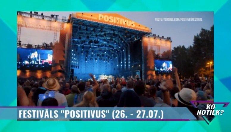 """Tuvojas festivāls """"Positivus"""""""