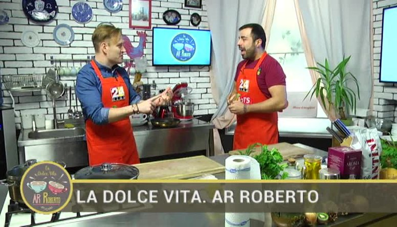 19.01.2017 La Dolce Vita. Ar Roberto 1. daļa