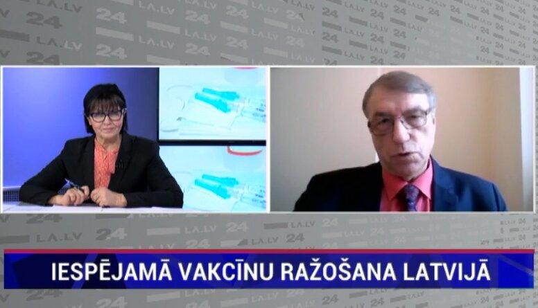 Vai Latvijā ir iespējama vakcīnu ražošana?