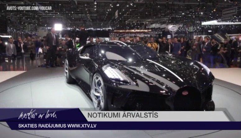 """""""Bugatti"""" automašīna pārdota par rekordcenu - 16,7 miljoniem eiro"""