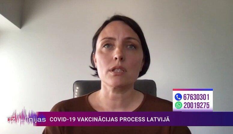 Čupāne: Latvijā nav apstiptināts neviens gadījums, kad vakcinācija būtu izraisījusi trombus