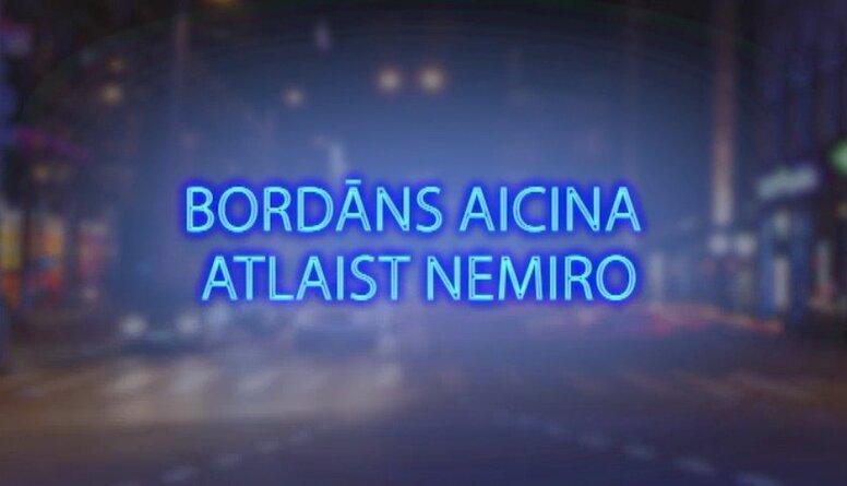 Tvitersāga: Bordāns aicina atlaist Nemiro