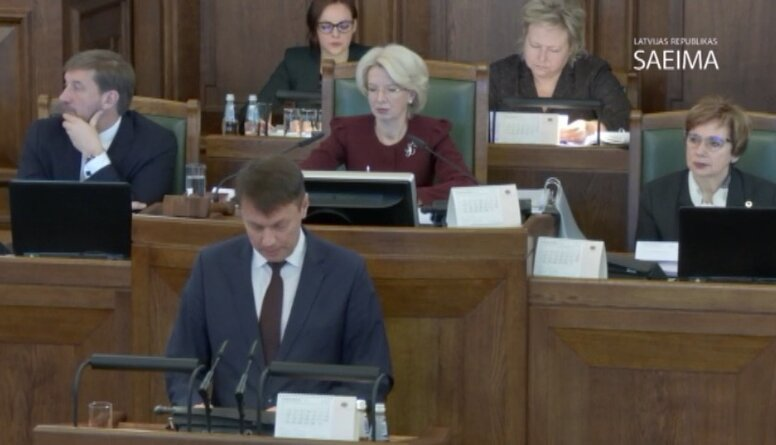 Speciālizlaidums: Saeima galīgajā lasījumā lemj par Rīgas domes atlaišanu  2. daļa