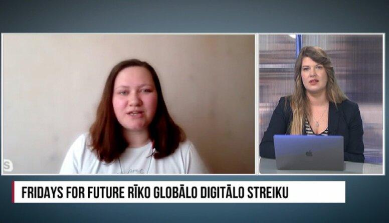 Fridays For Future rīko globālo digitālo streiku