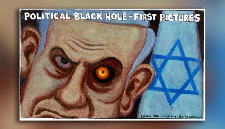 Karikatūru apskats: politiskais melnais caurums