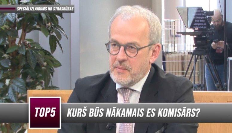 Vai Roberts Zīle kandidēs ES komisāra amatam?