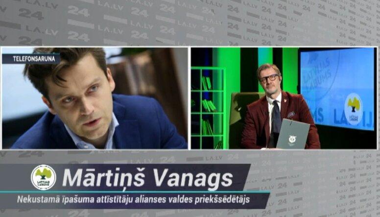Mārtiņš Vanags: Šobrīd tirdzniecības centriem nepieciešams atbalsts