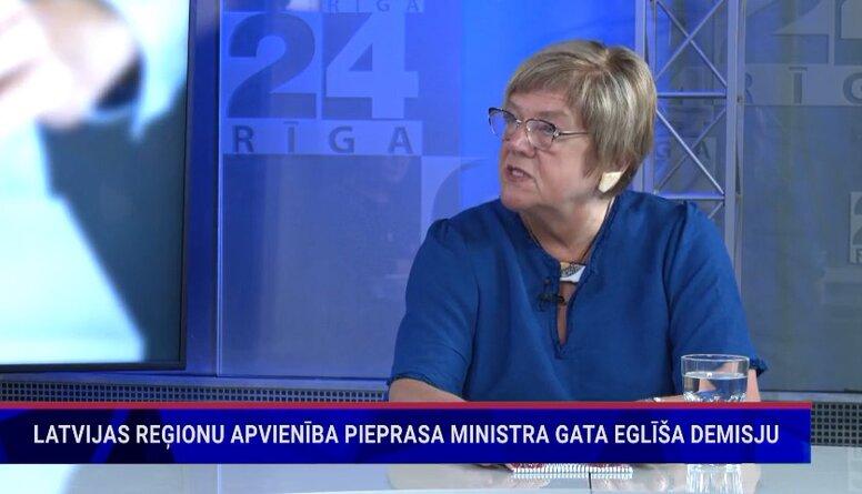 Ilga Kreituse komentē ministra Gata Eglīša izteikumus