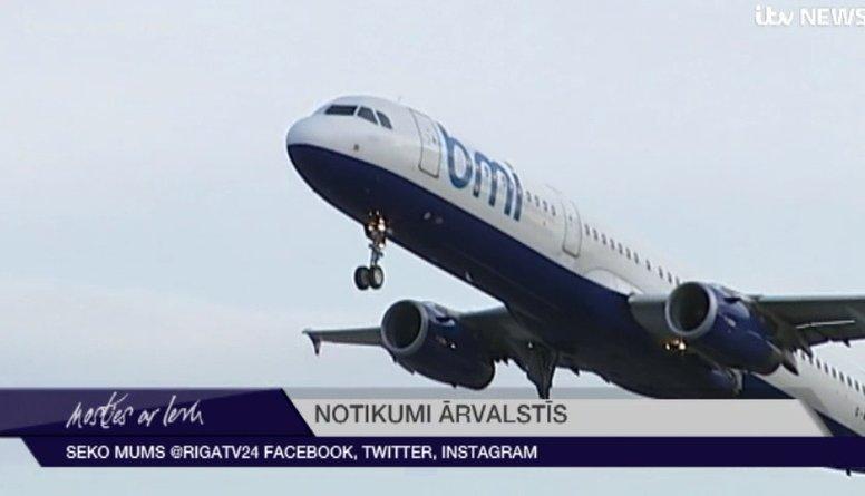 """Lielbritānijas aviokompānija """"flybmi"""" pārtrauc darbību """"Brexit"""" neskaidrību dēļ"""