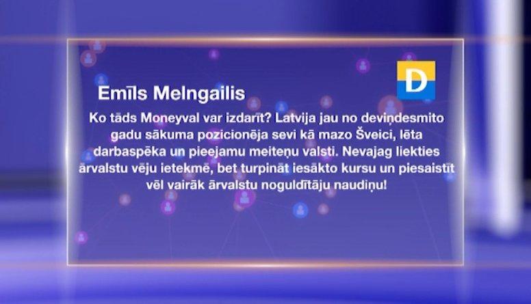 """Sabiedrības viedokļi par """"Moneyval"""" ziņojumu Latvijai"""