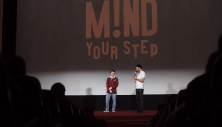 "Filmas ""Mind Your Step"" pirmizrāde"