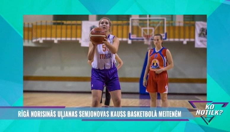 Šajā nedēļas nogalē risinās Uļjanas Semjonovas kauss basketbolā meitenēm