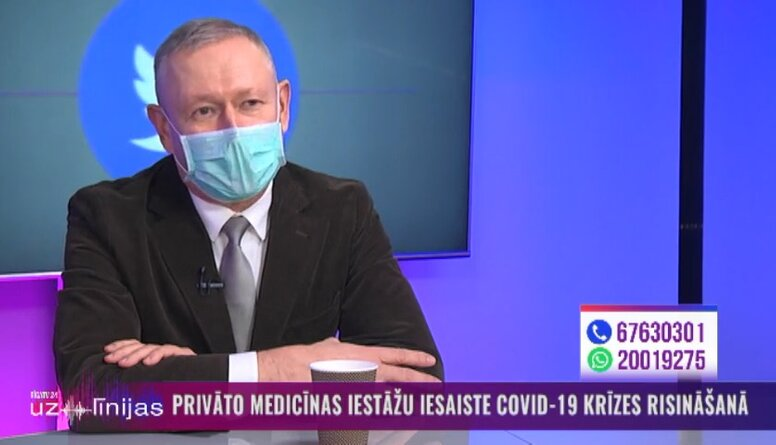 Vai šobrīd tiek runāts ar privātajām medicīnas iestādēm par to iesaisti Covid-19 vakcinācijā?