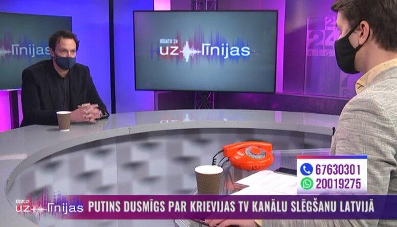 NEPLP loceklis par Krievijas TV kanālu slēgšanu Latvijā