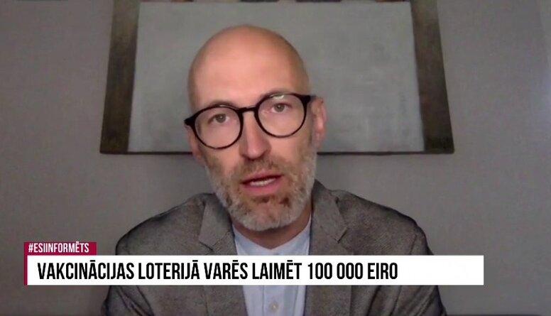 Speciālizlaidums: Vakcinācijas loterijā varēs laimēt 100 000 eiro