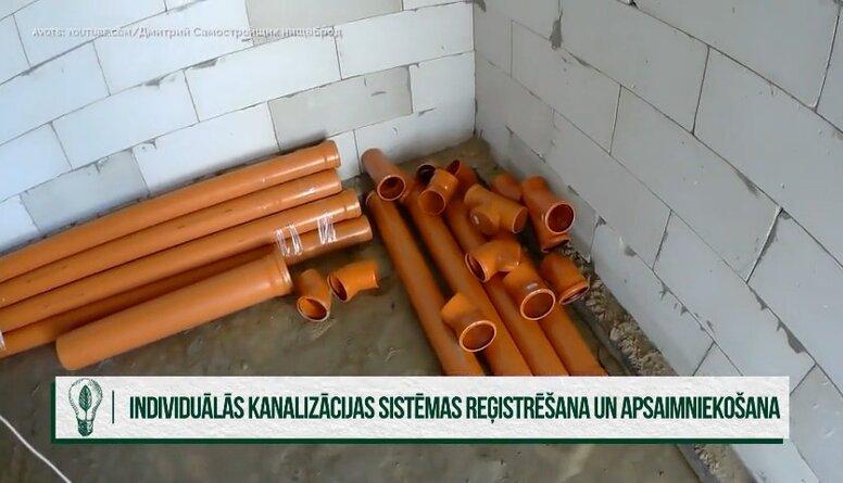 Cik daudz rīdzinieku reģistrējuši decentralizētās kanalizācijas sistēmas?