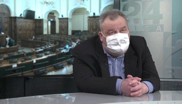 Freimanis: Rodas sajūta, ka veselības ministrs manipulē ar premjeru