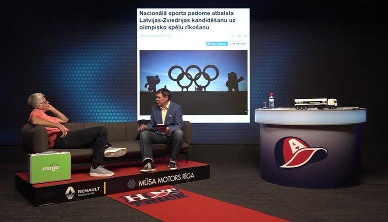 Puče un Valters asi diskutē par olimpiādes nepieciešamību Latvijā