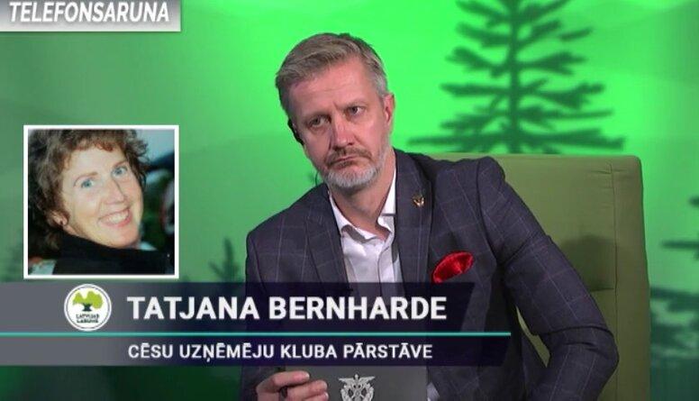 Tatjana Bernharde par par izmaiņām attiecībā uz mazo uzņēmēju regulējumu un sociālajām iemaksām