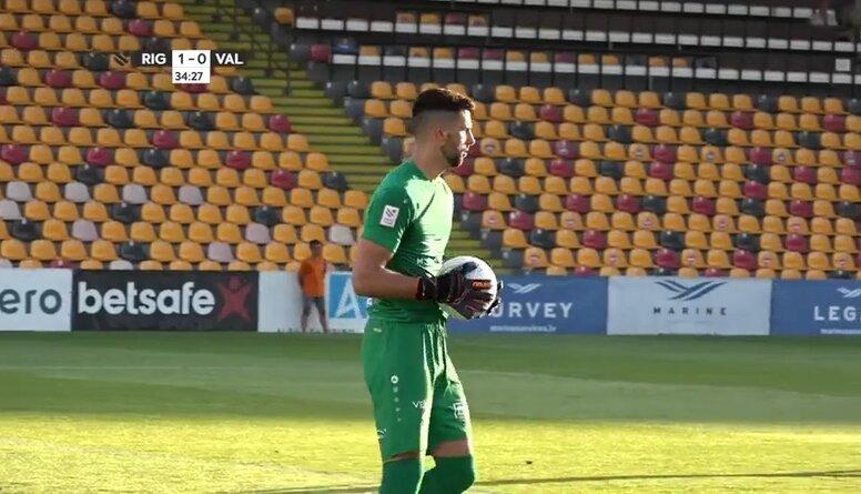 Optibet futbola Virslīga: Riga FC - Valmiera FC. Spēles ieraksts